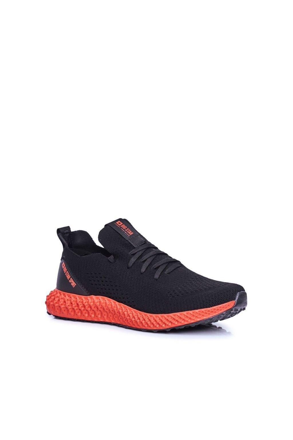 Čierna obuv kód topánok FF174234 BLK