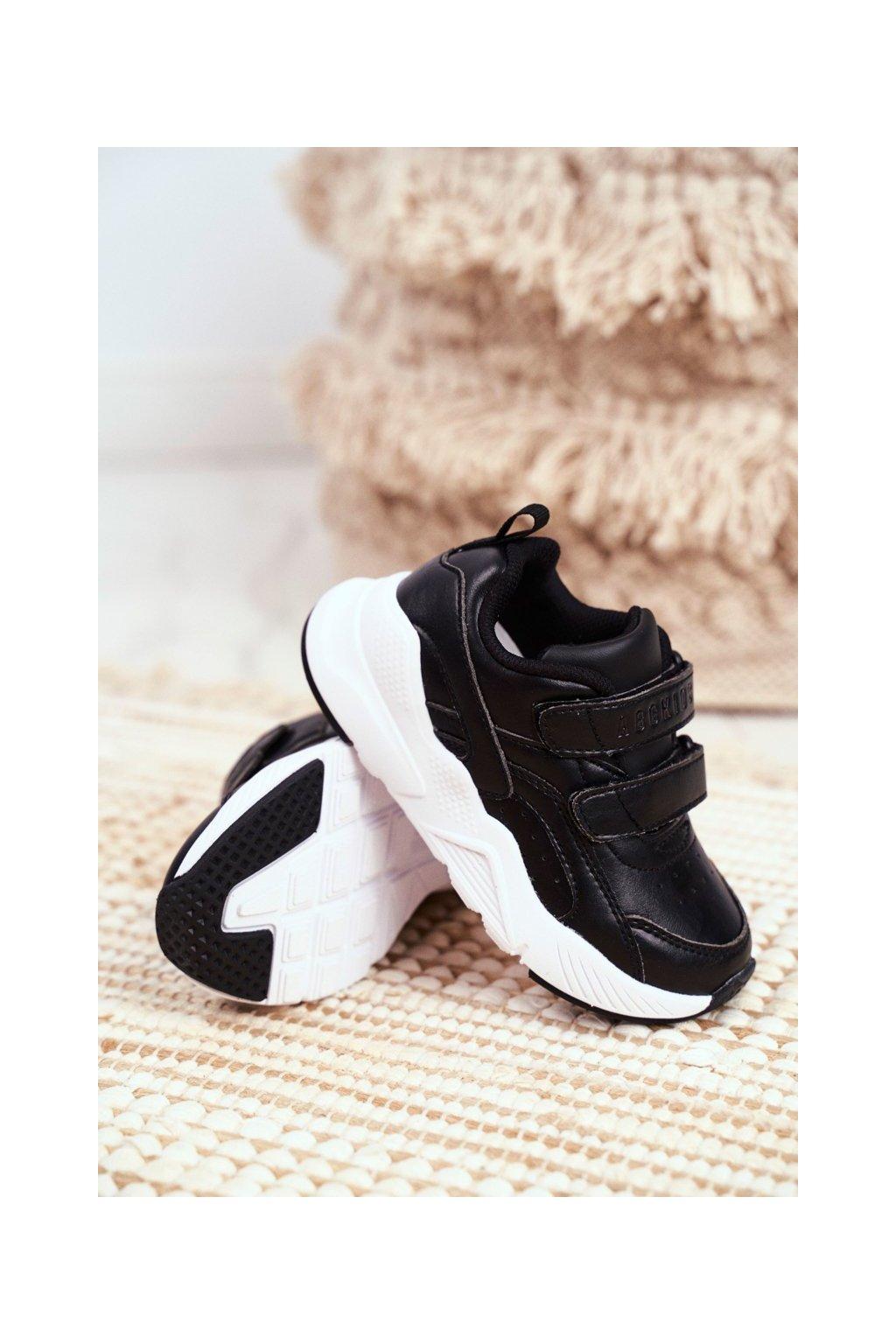 Detské tenisky farba čierna kód obuvi B013310212 BLK