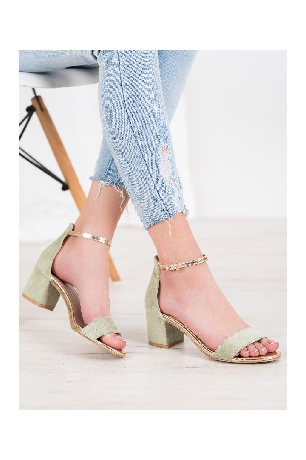 Zelené sandále Seastar kod M307GR