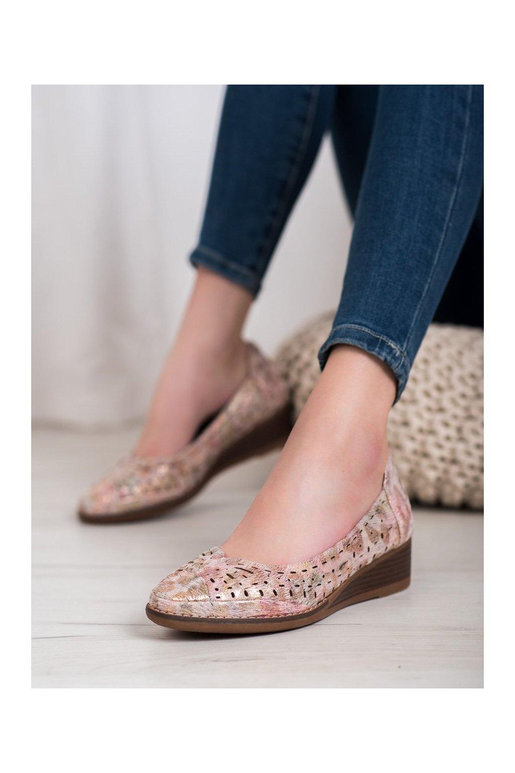 Viacfarebné topánky Vinceza kod XY20-10520FL