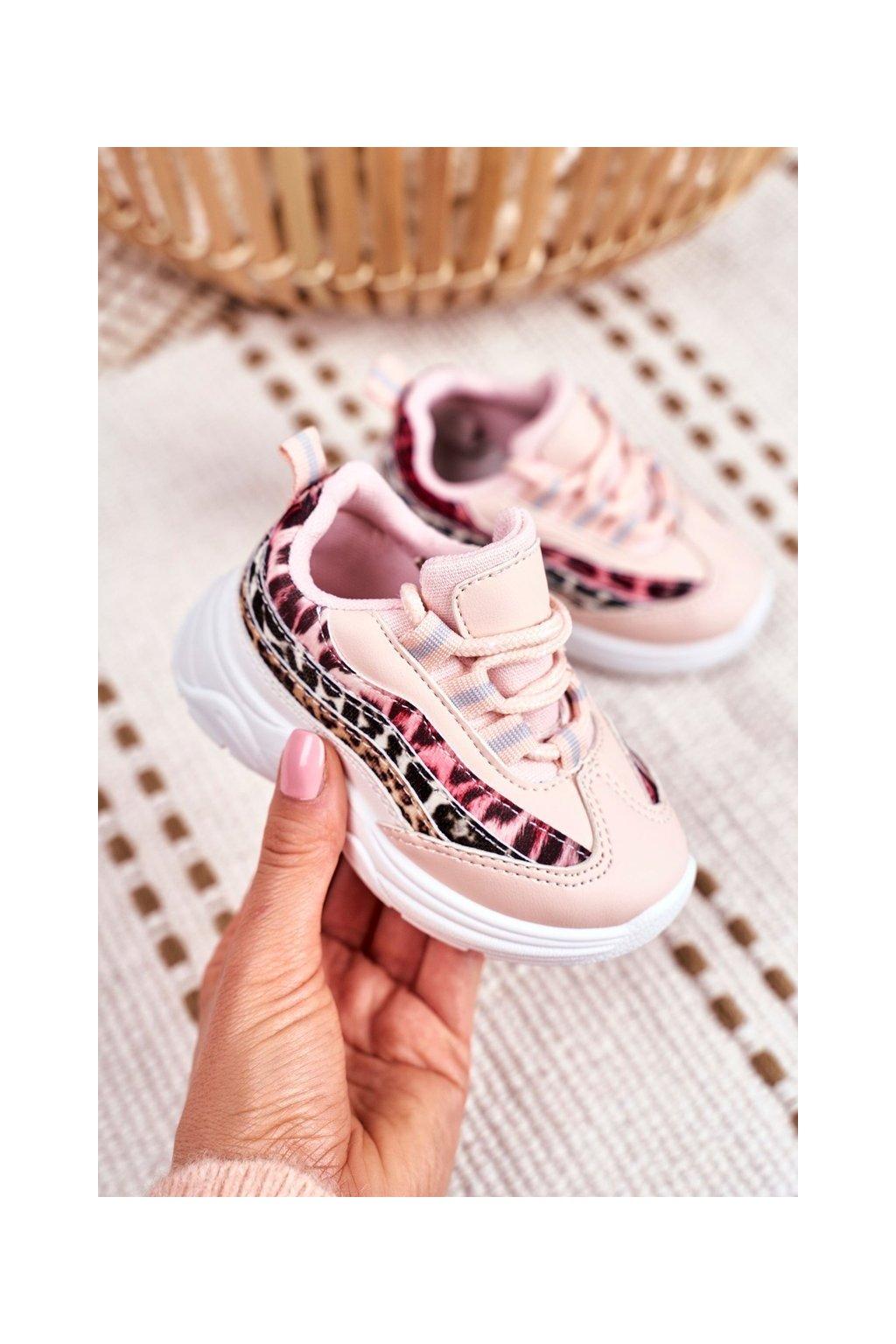 Detské tenisky farba ružová kód obuvi 898-B PINK