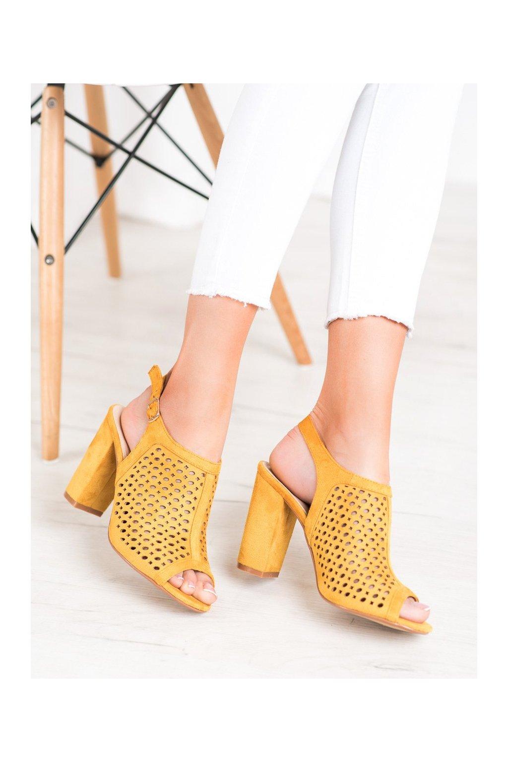 Žlté sandále Weide kod Y621Y
