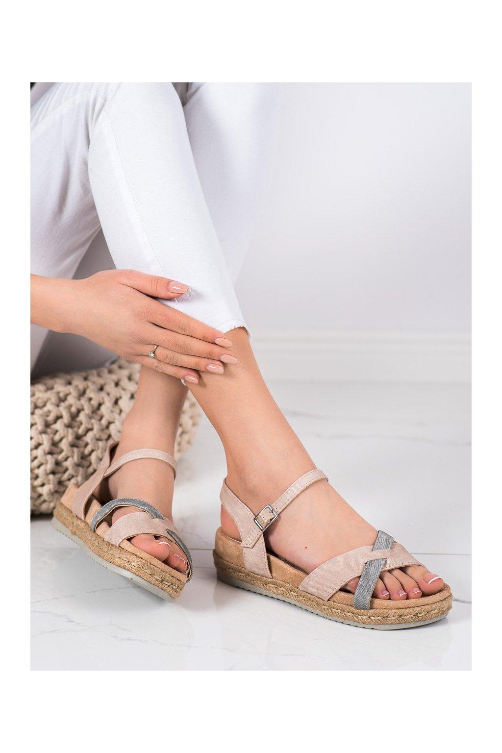 Ružové sandále Kylie kod K1902607NU