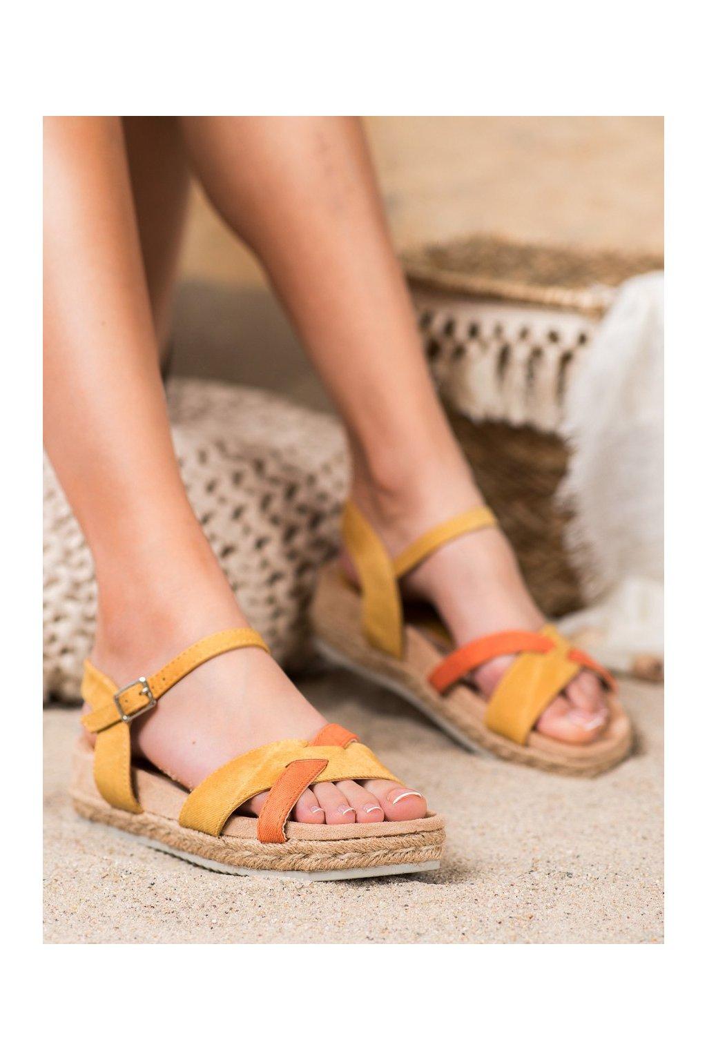 Žlté sandále Kylie kod K1902607MO