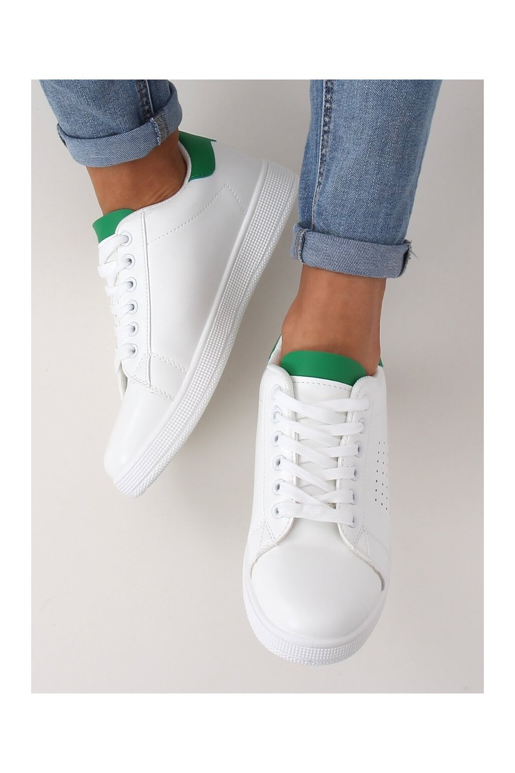 Dámske tenisky zelené LV101P