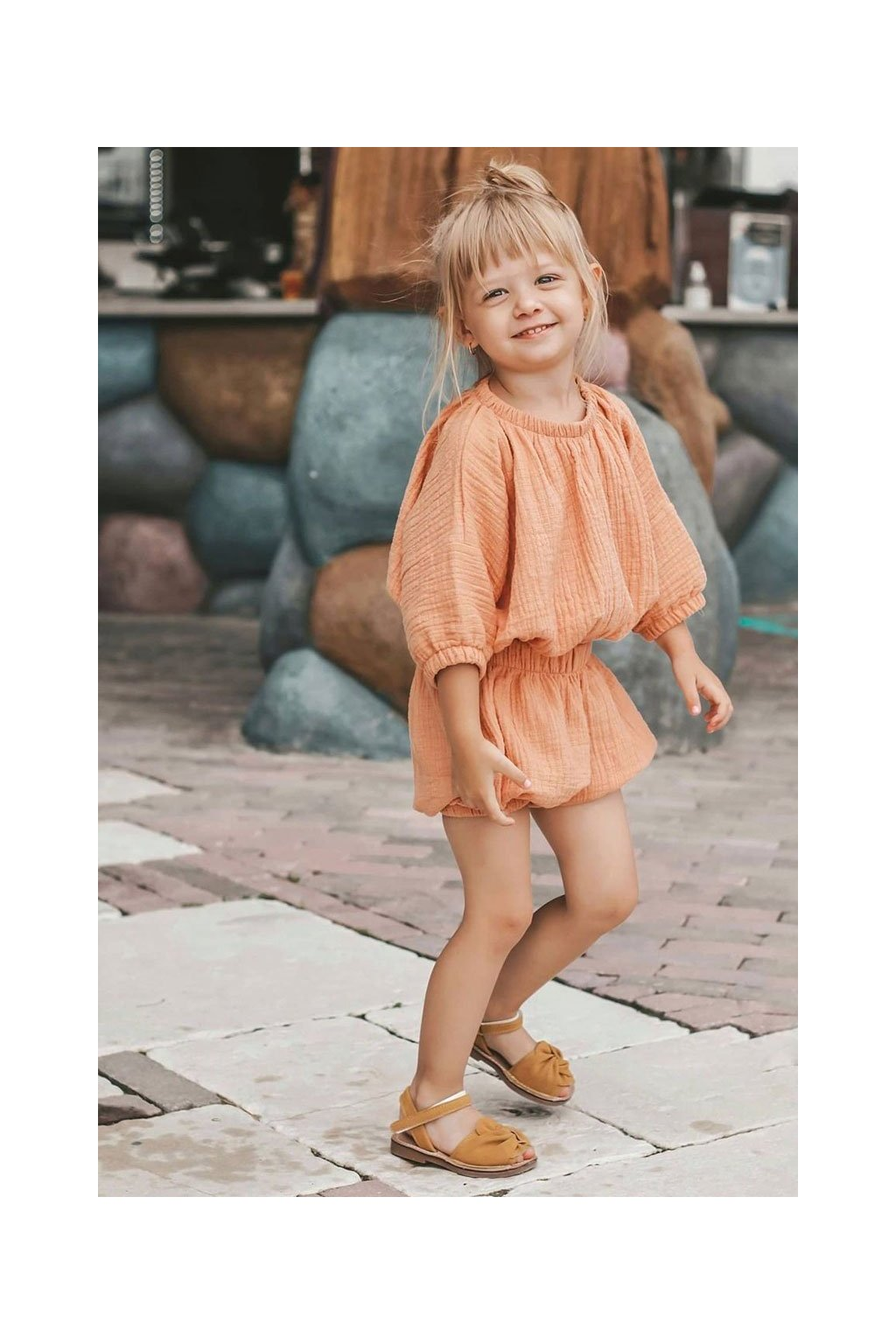 Detské Sandále se Suchým Zipem žlté Goofy
