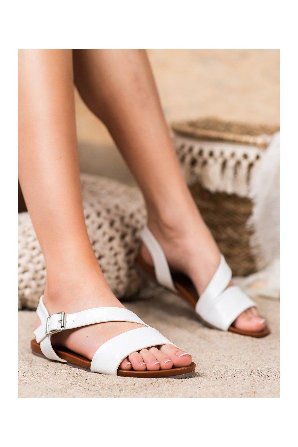 Biele sandále Kylie kod K1951602BLA