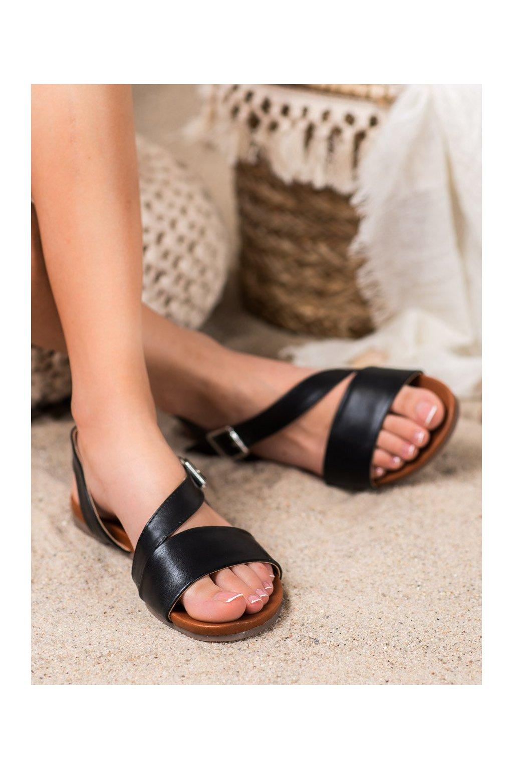 Čierne sandále Kylie kod K1951602NE