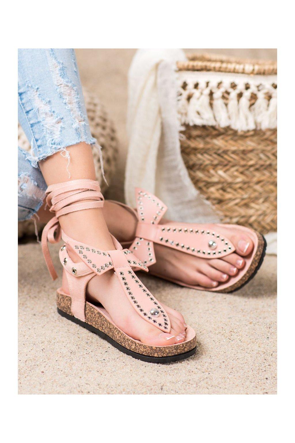 Ružové sandále Seastar kod CK160P