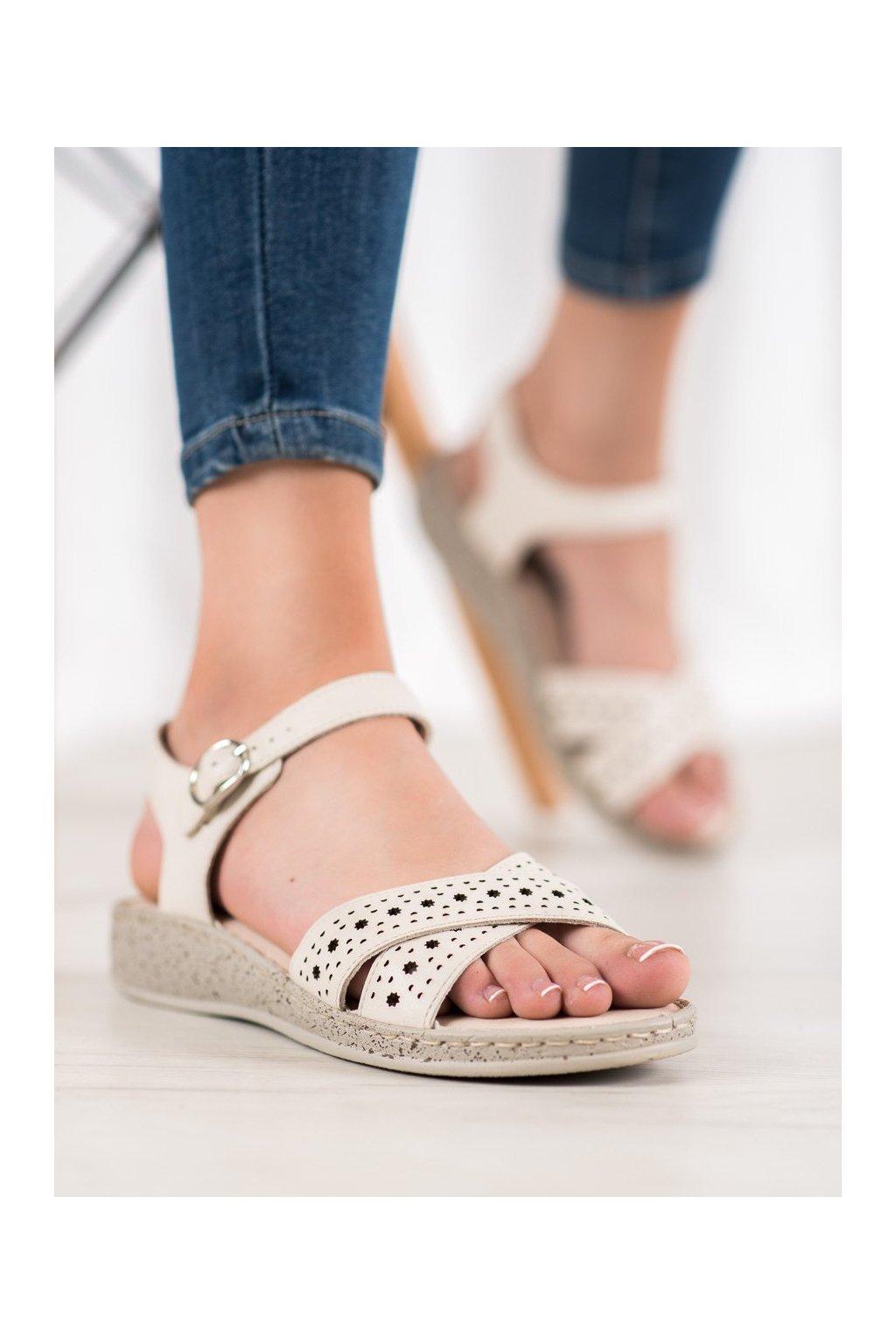 Hnedé sandále Shelovet kod B119-05-02HU