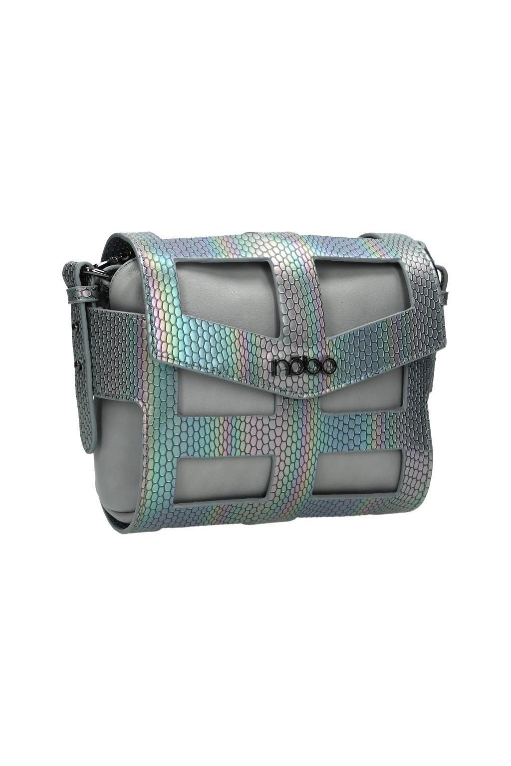 Nobo Dámska kabelka na šedý plyn NBAG-E4101-C019
