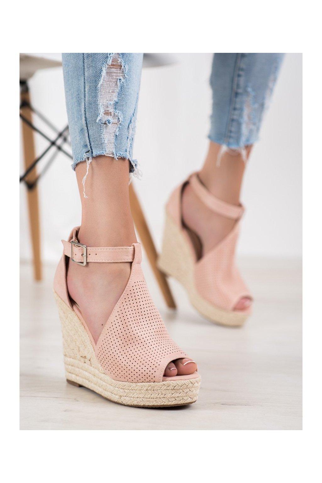 Ružové sandále Shelovet kod NGSJ-2BE