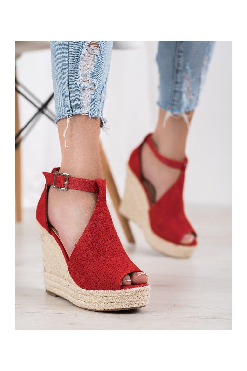 Červené sandále Shelovet kod NGSJ-2R