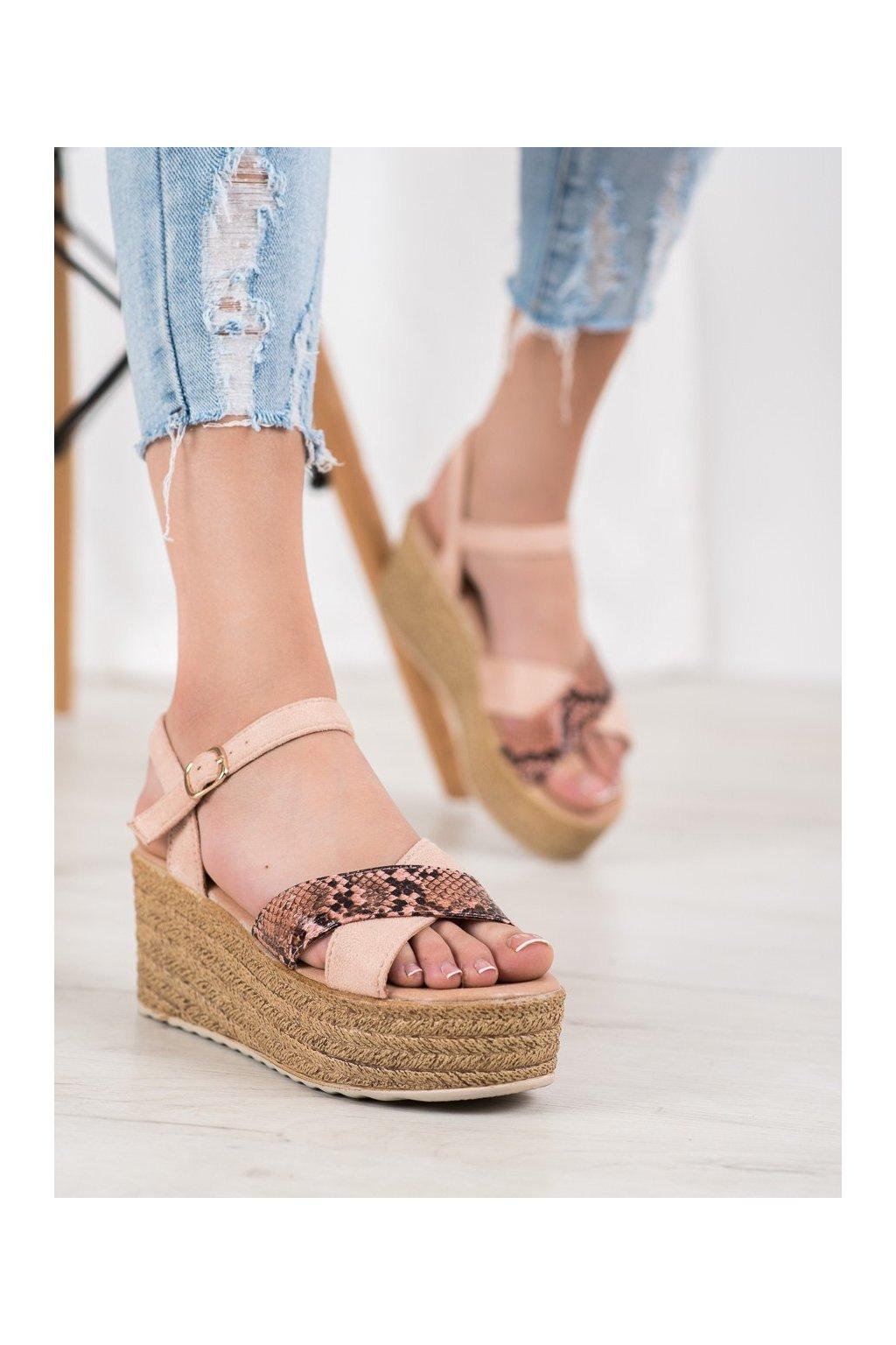 Ružové sandále Shelovet kod FH313P