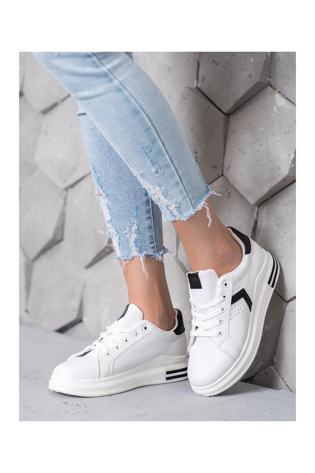 Biele tenisky Shelovet kod R14YD4799-1B