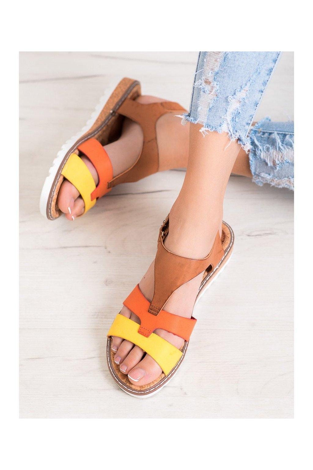Viacfarebné sandále Kylie kod K2002104MO