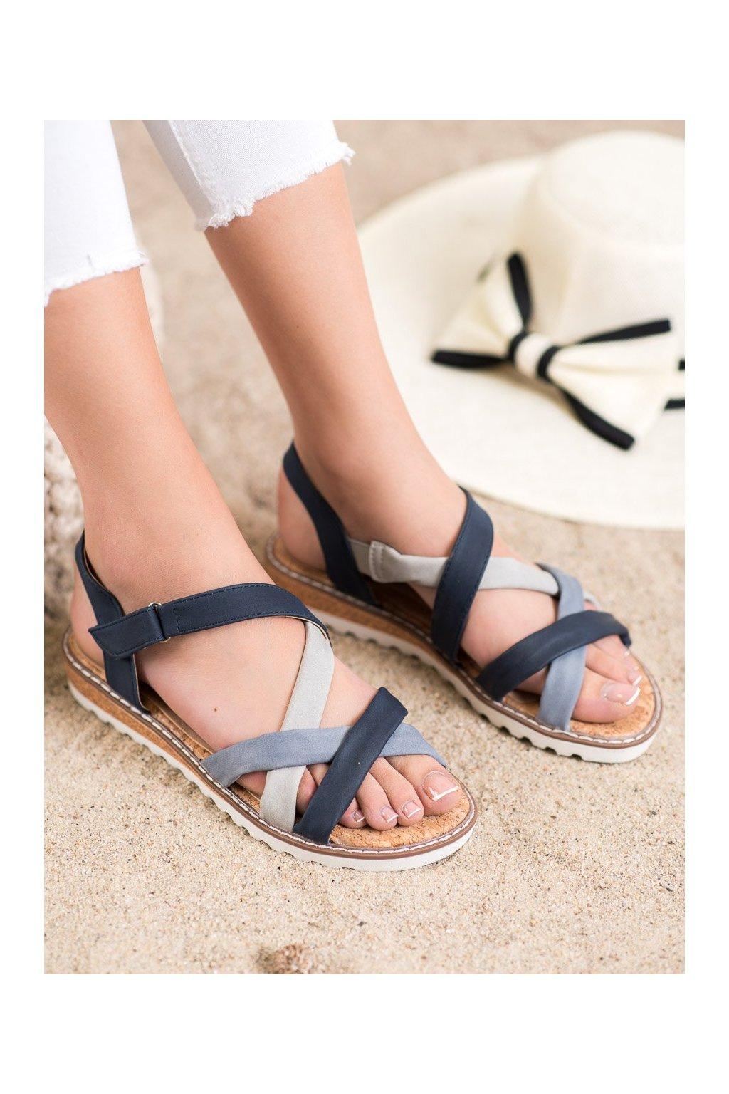Modré sandále Kylie kod K2002105JE