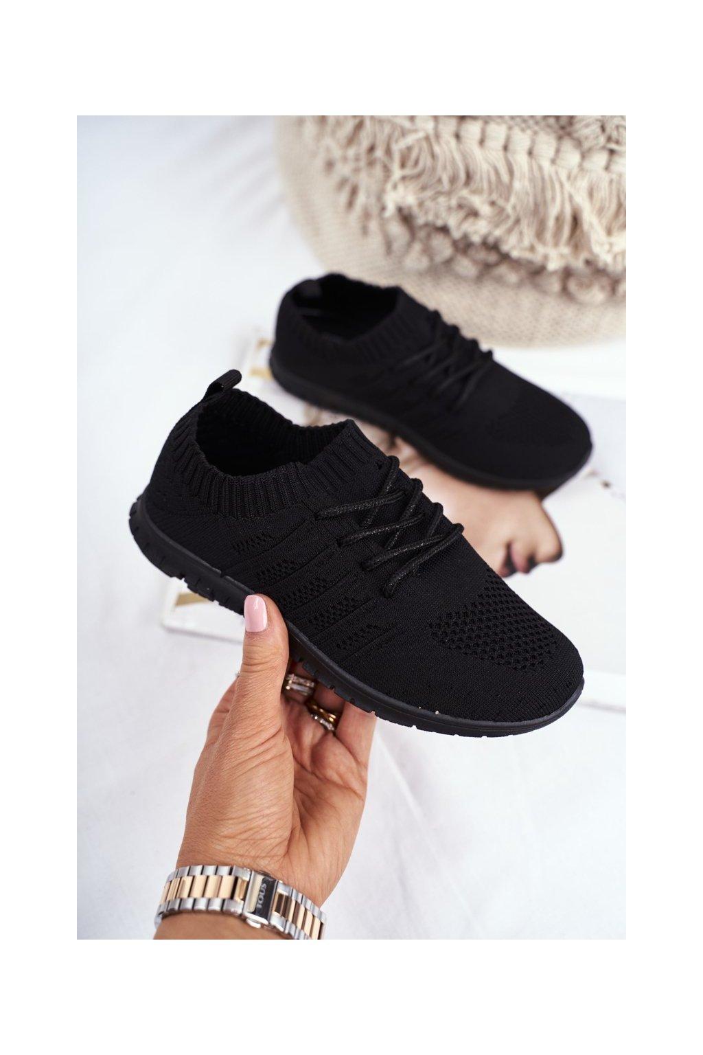 Detské tenisky farba čierna kód obuvi 20DZ30-1921 BLK