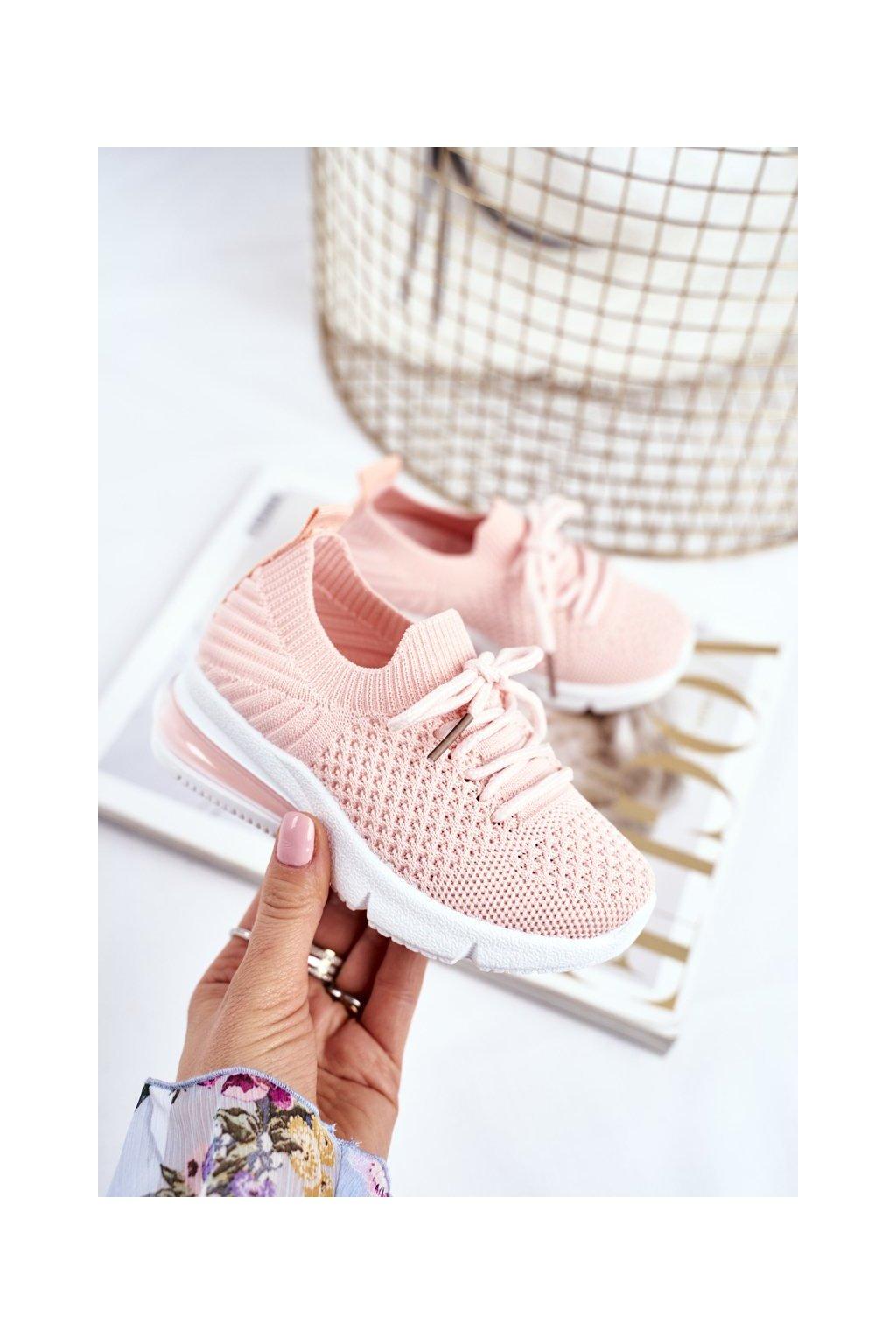 Detské tenisky farba ružová kód obuvi 667-B PINK