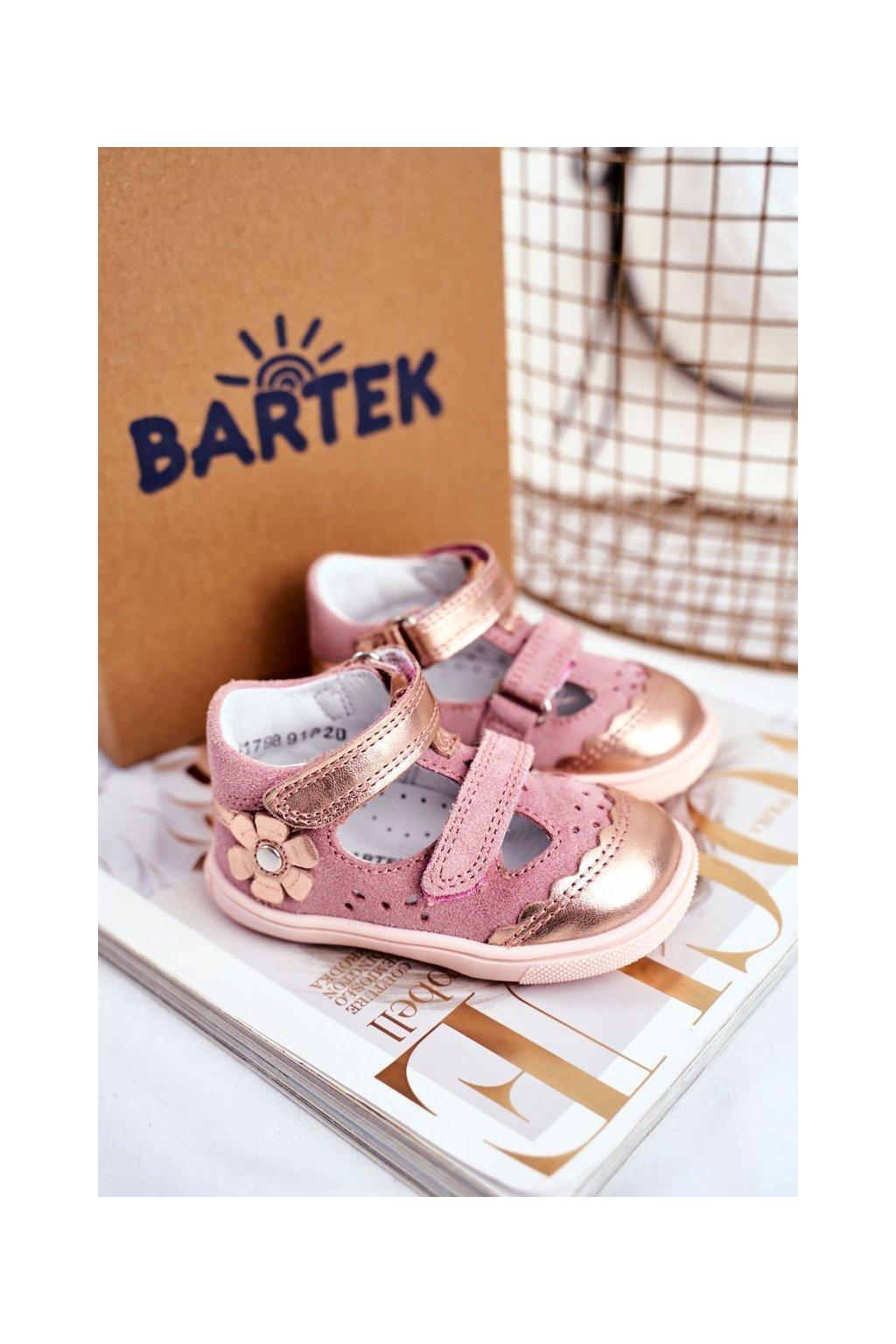 Detské Sandále Dievčenské Preventivní BARTEK T-81798-7/91P
