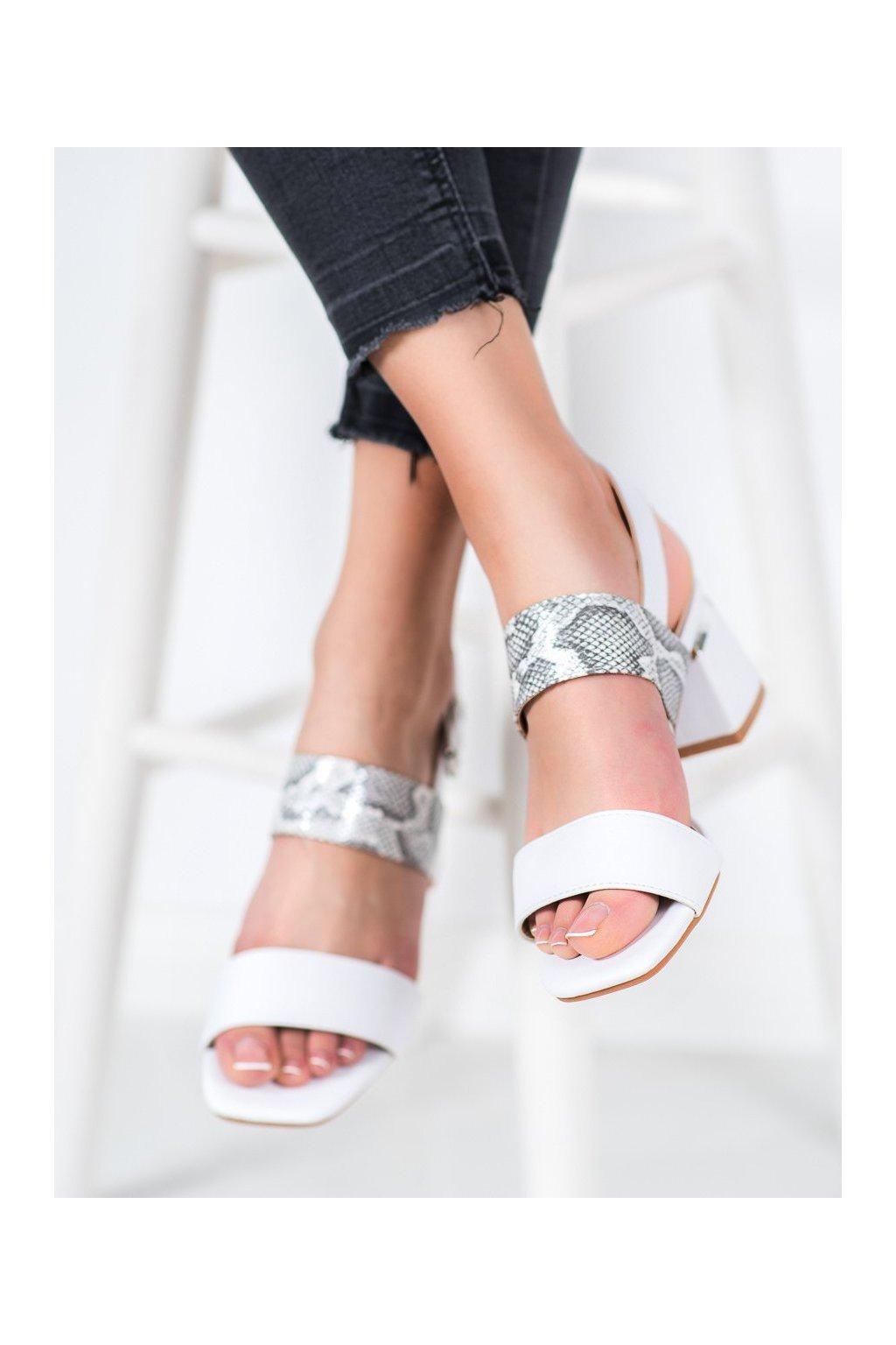 Biele sandále Kylie kod K2012802BLA