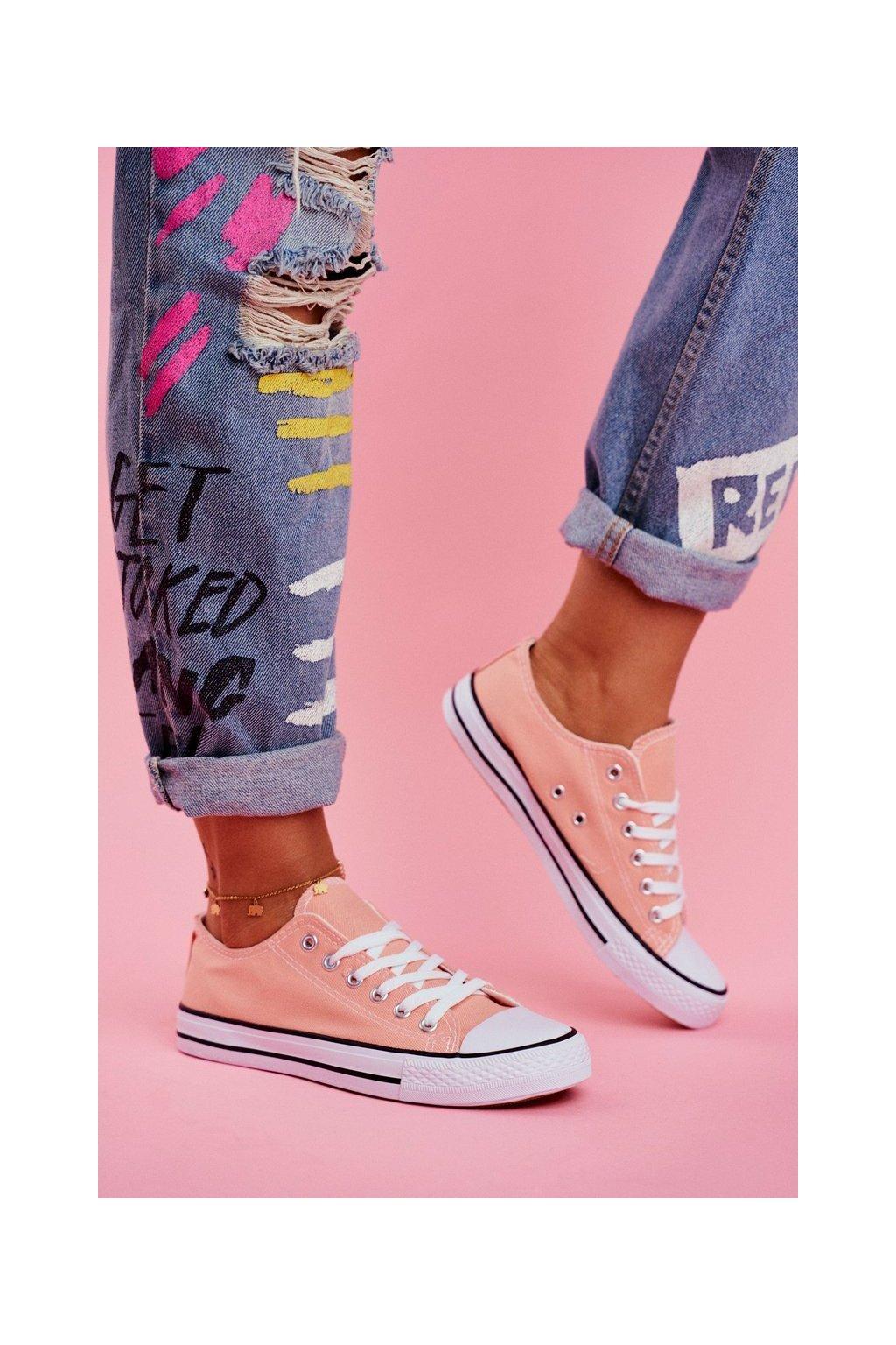 Dámske tenisky farba ružová kód obuvi XL03 WATERMELON RED