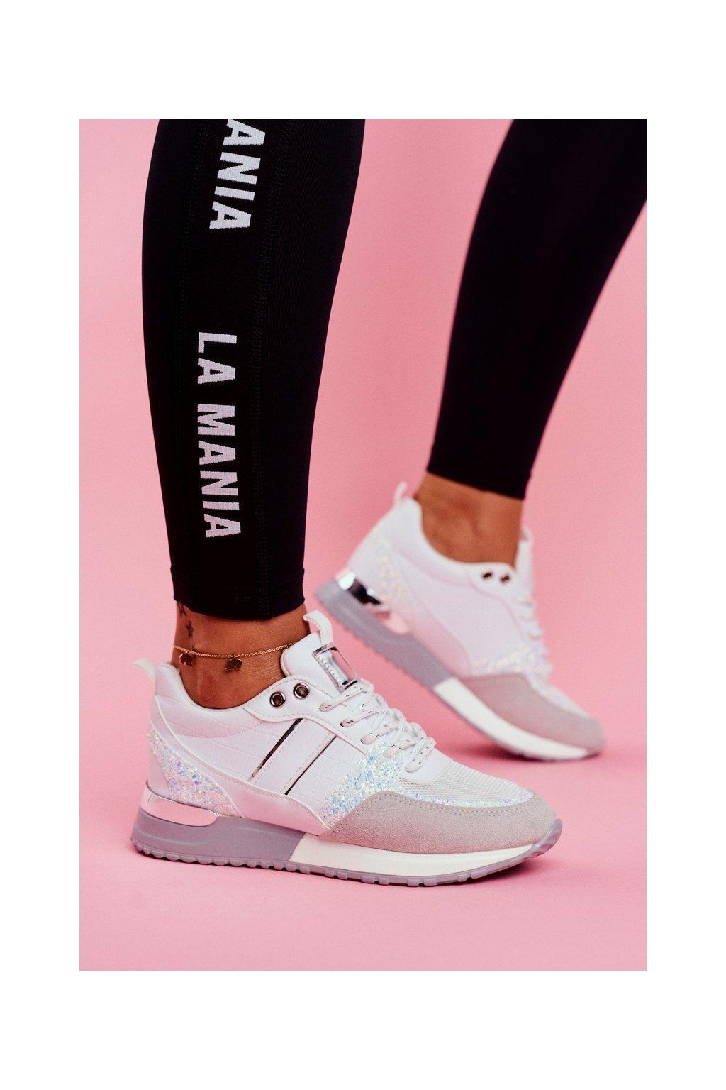 Dámska športová obuv biele Himme