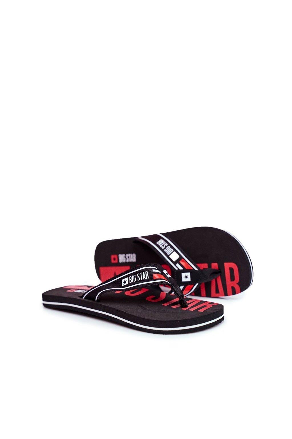 Pánske žabky farba čierna kód obuvi FF174450 BLK
