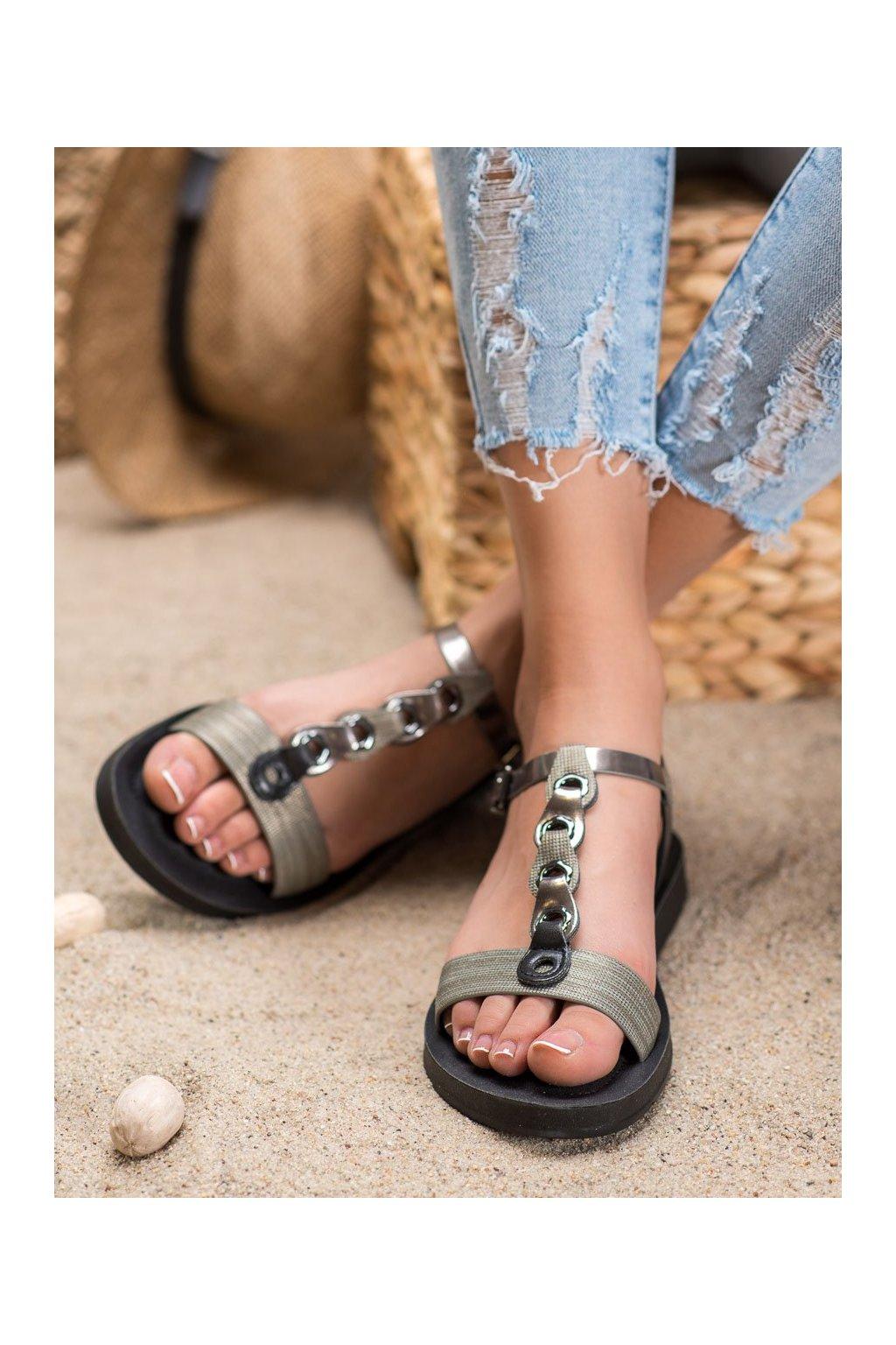 Čierne sandále Filippo kod DS1300/20B