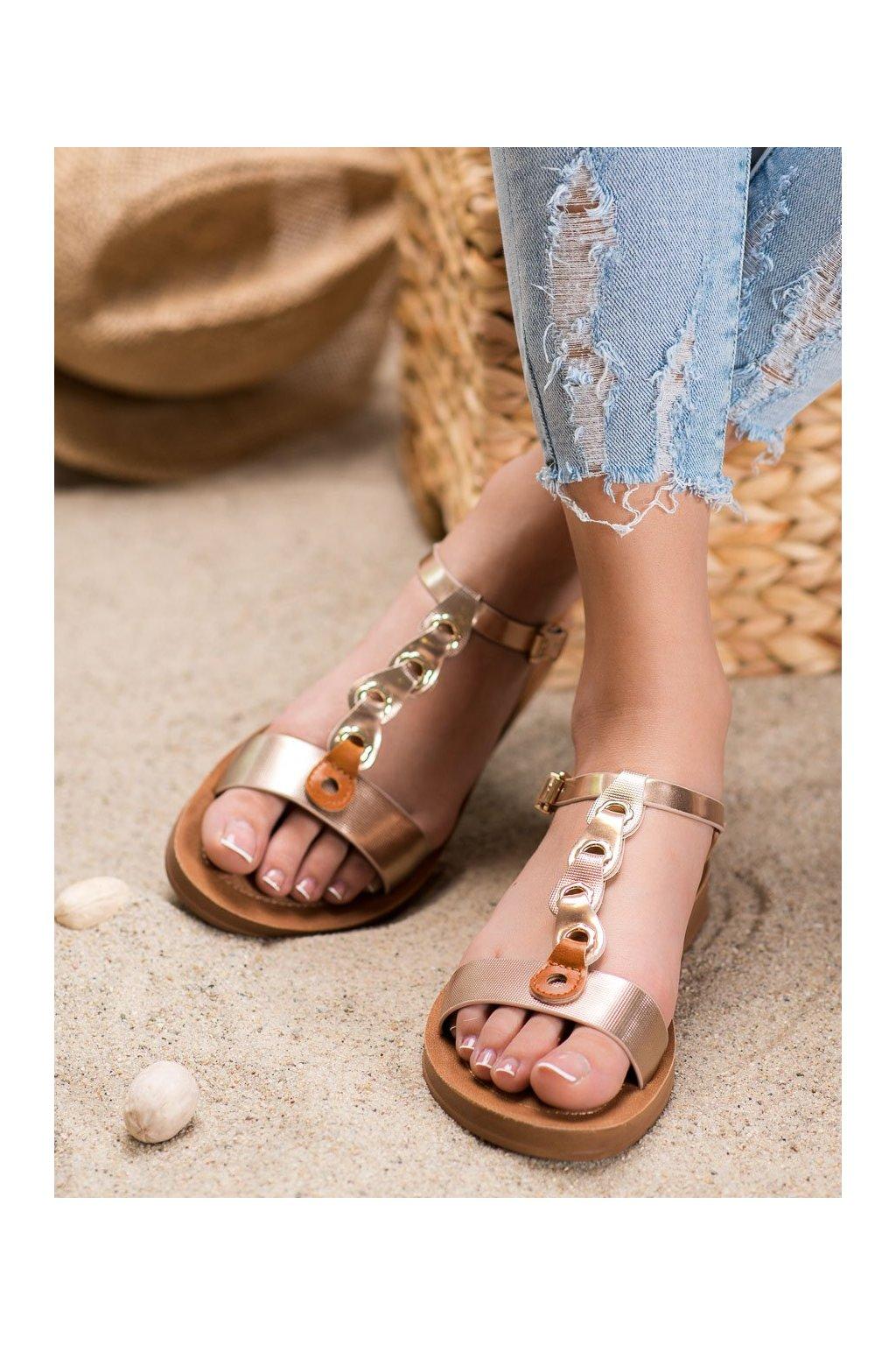 Hnedé sandále Filippo kod DS1300/20BR