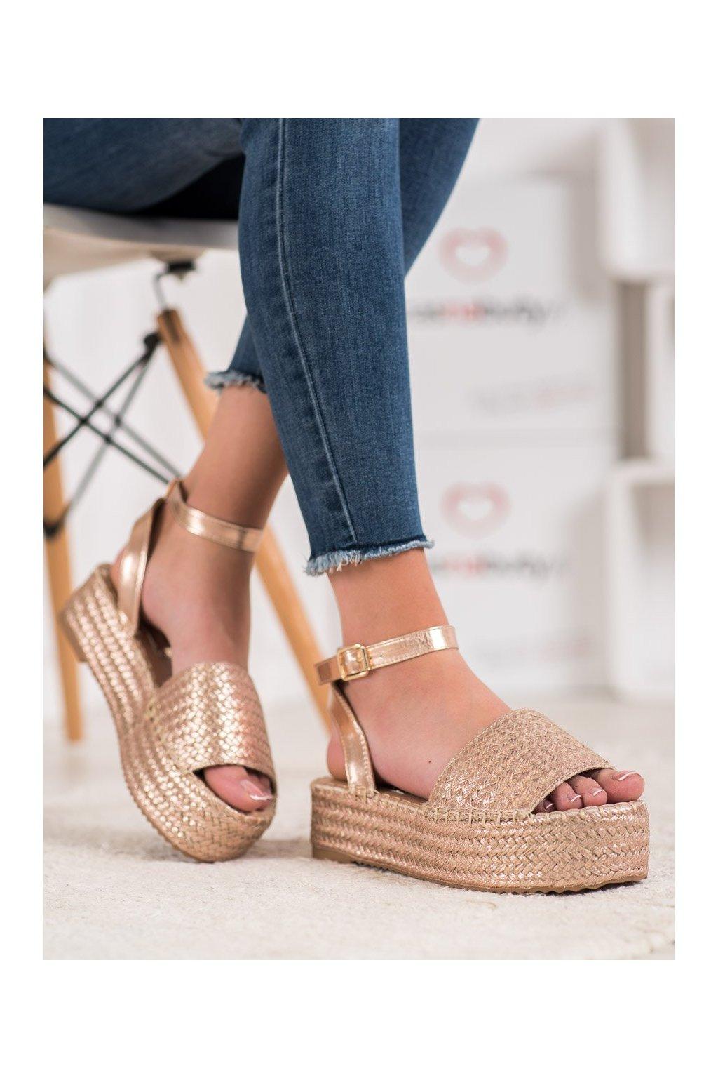 Žlté sandále Weide kod Q738CH