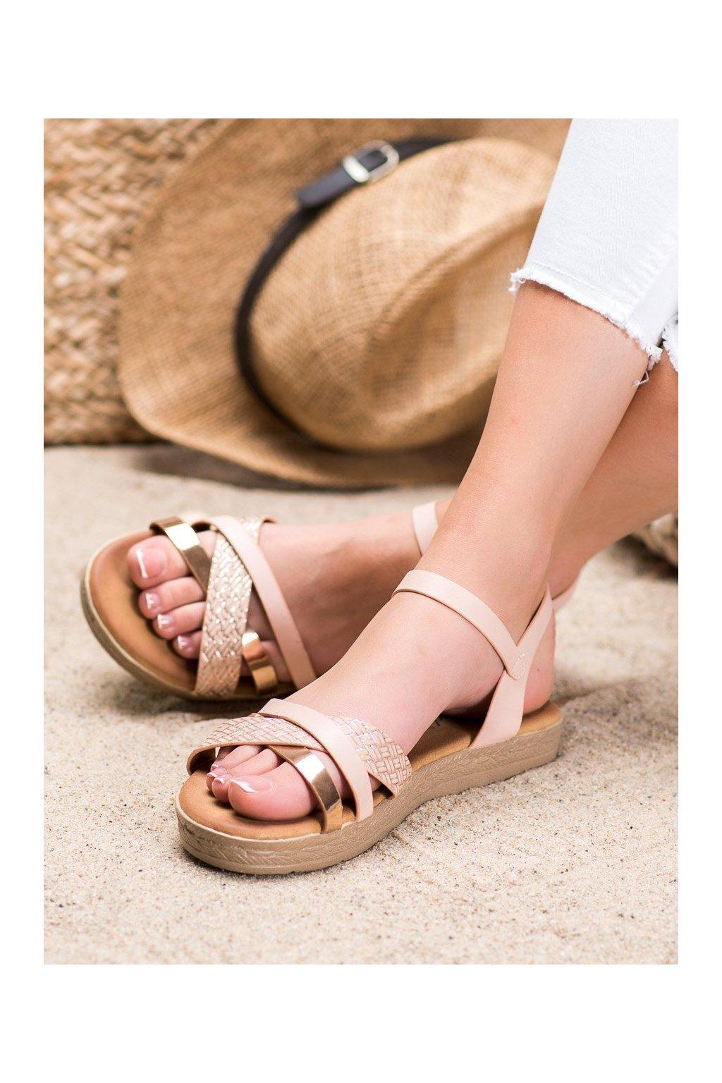 Ružové sandále Weide kod Y609P