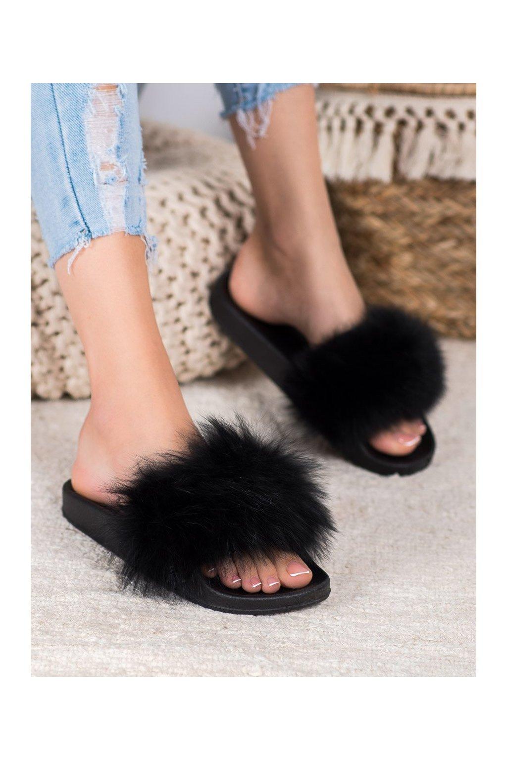 Čierne dámska obuv na doma Seastar kod RL-01B