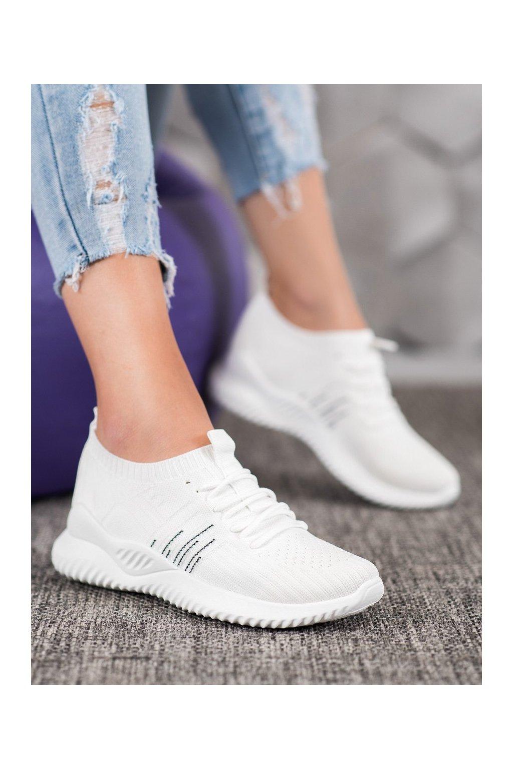 Biele tenisky Mckeylor kod ANN20-14434W
