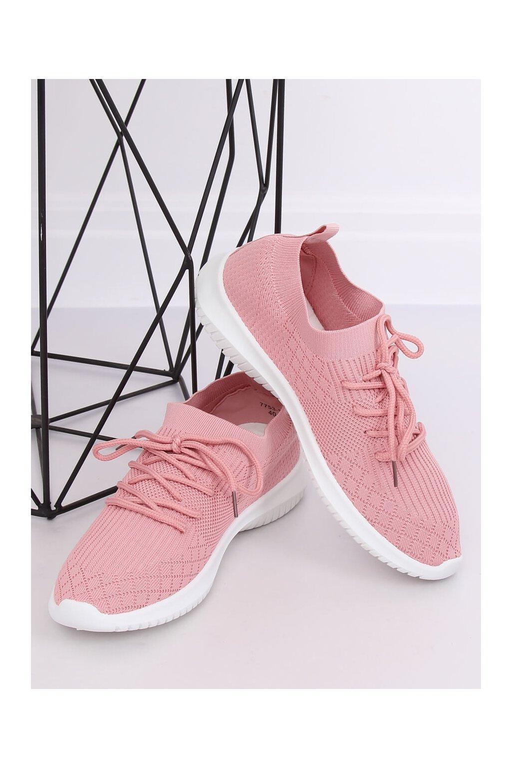 Dámske tenisky ružové NJSK 7753-Y
