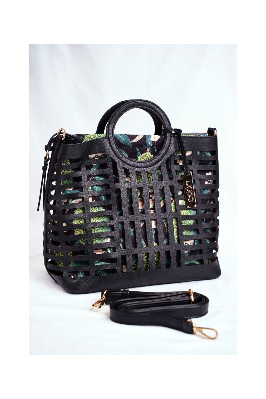 Dámska kabelka čierna kód kabelky NBAG-I3670-C020 BLK