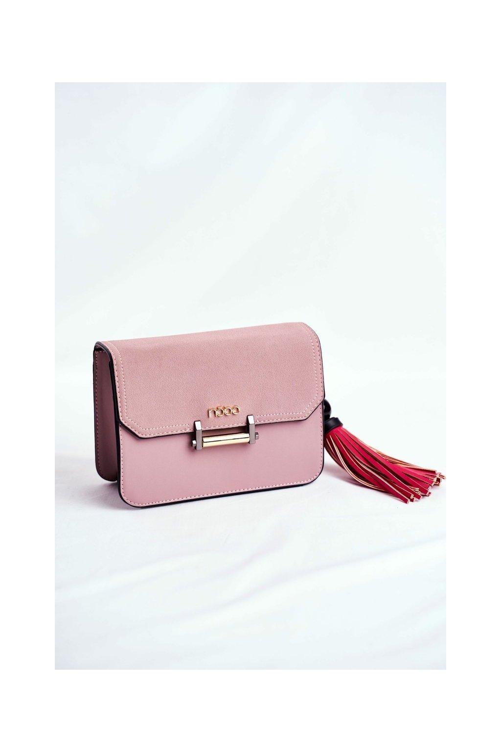 Dámska listová kabelka ružová kód kabelky NBAG-I0040-C004 PINK