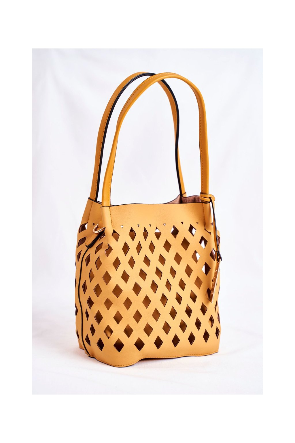 Dámska kabelka žltá kód kabelky NBAG-I3690-C002 YELLOW