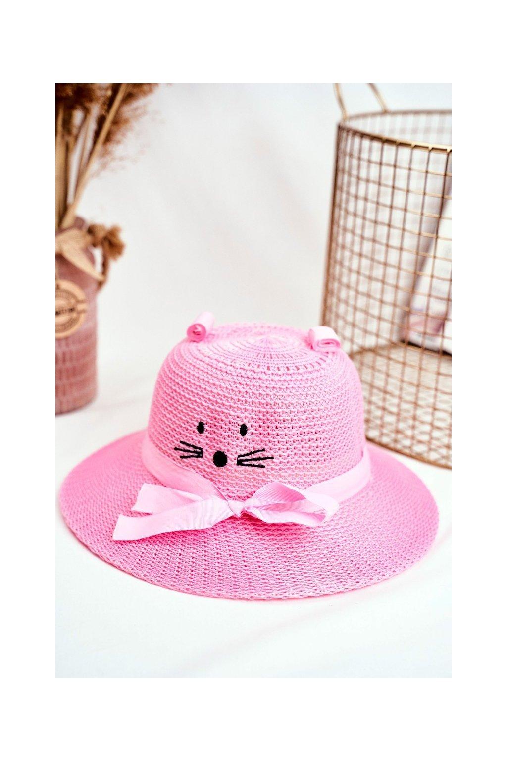 Klobúk farba ružová kód KAP-306 PINK