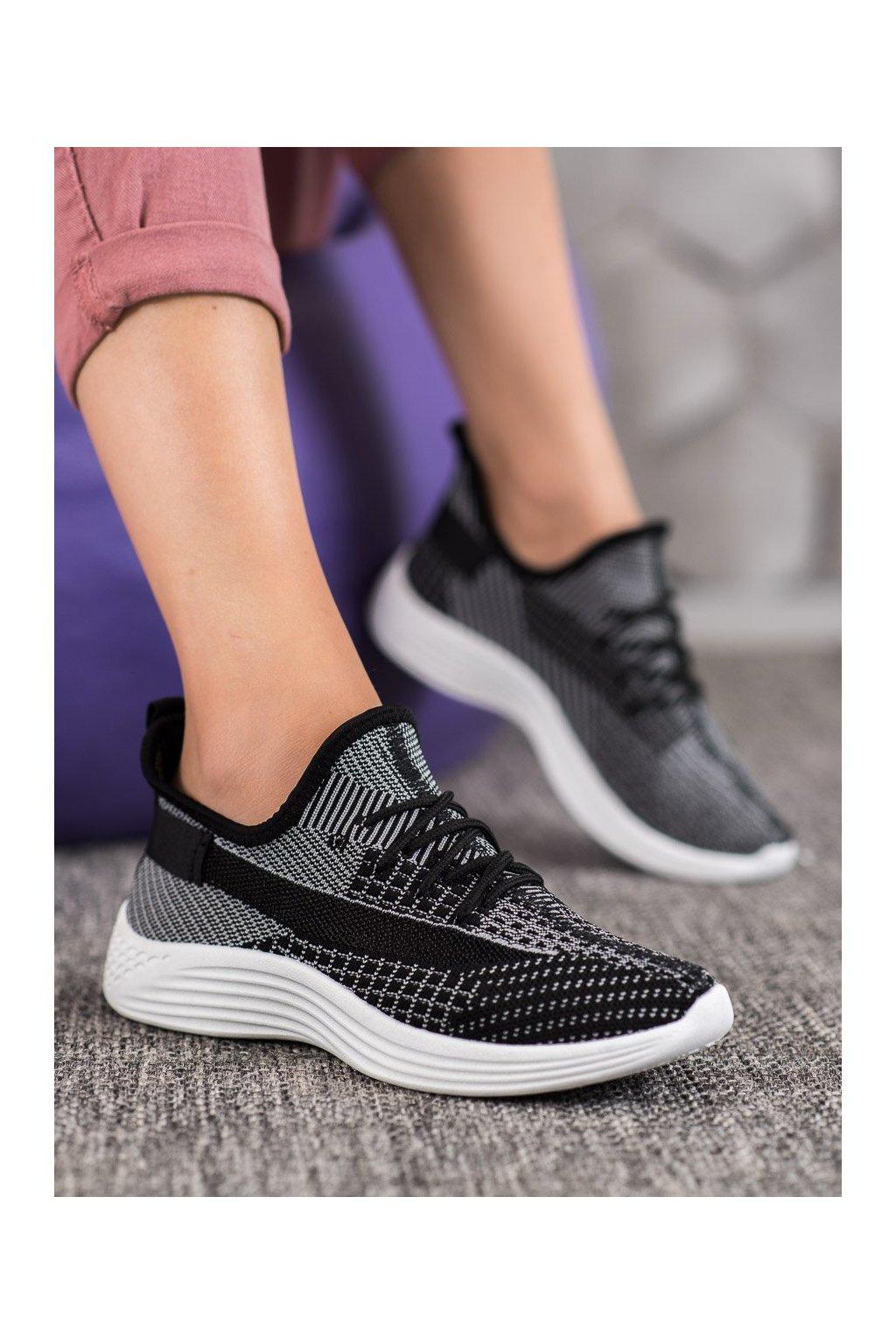 Čierne topánky Mckeylor kod ANH20-13530B