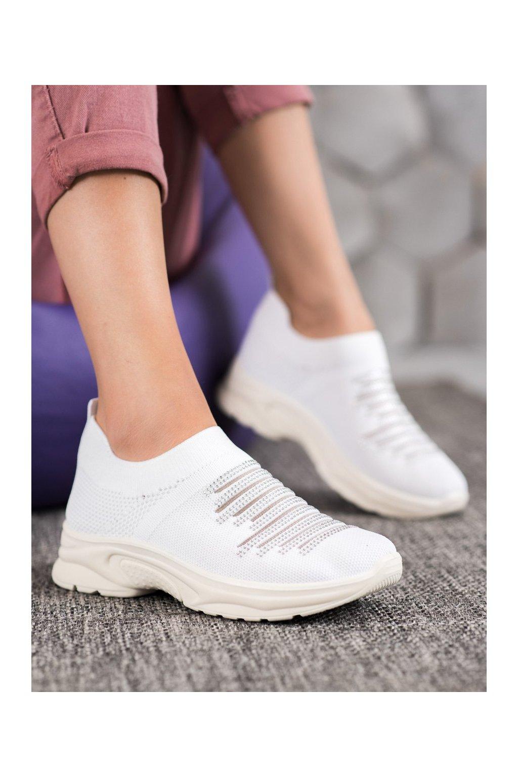 Biele tenisky Mckeylor kod ANN20-14400W