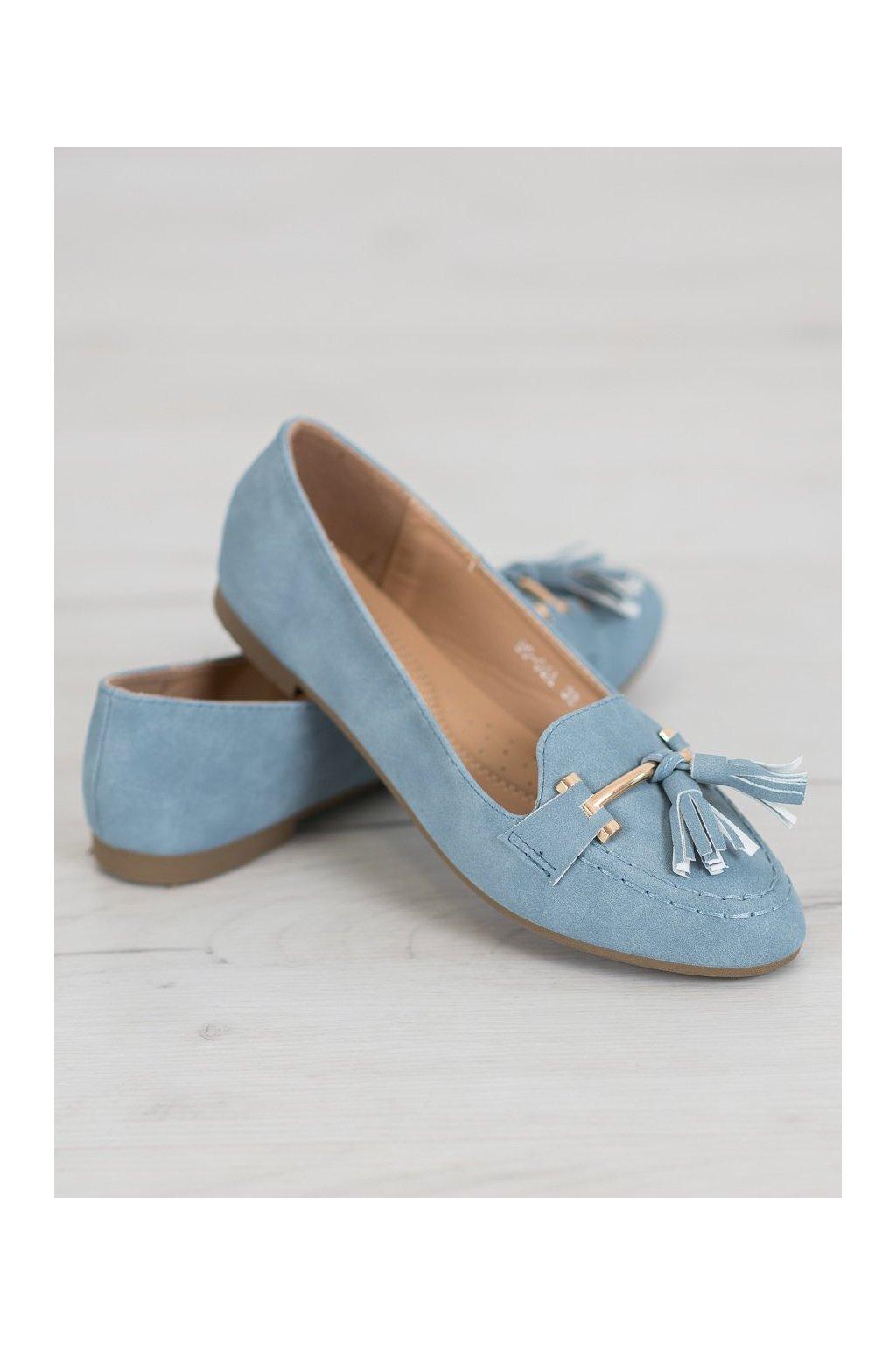 Modré topánky Nio nio kod 99-08A-BL