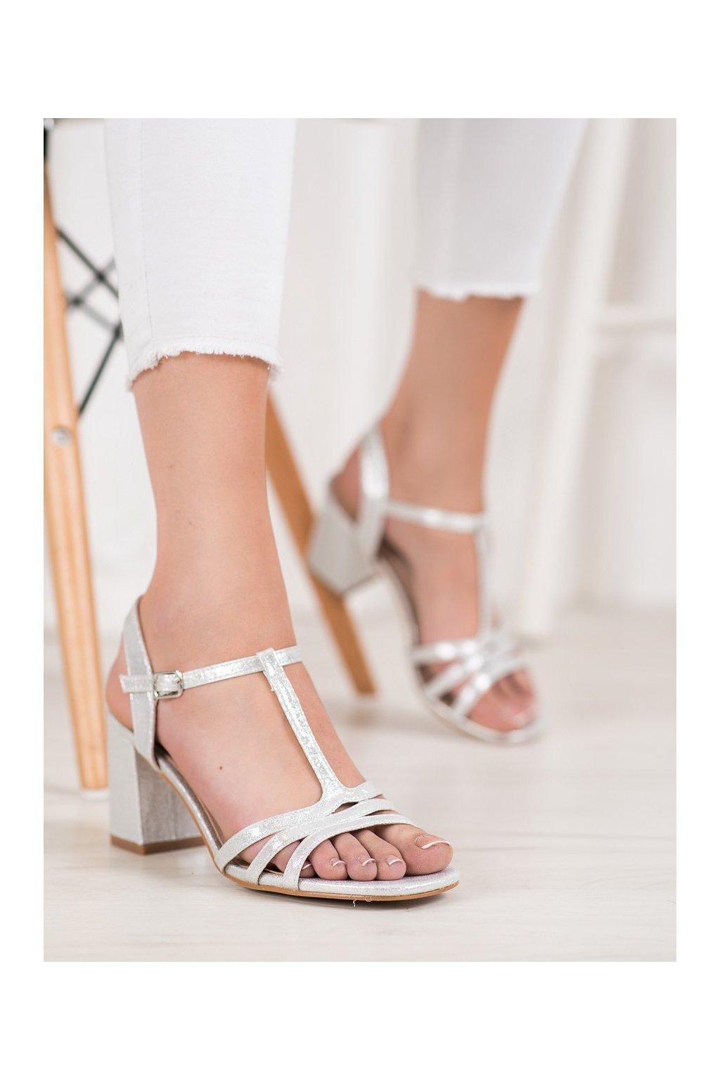 Sivé topánky Vinceza kod YQE20-17061S