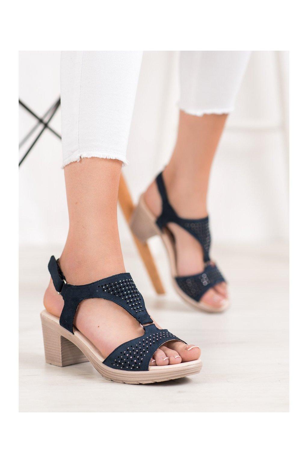 Modré sandále Shelovet kod B119-06-01MAR