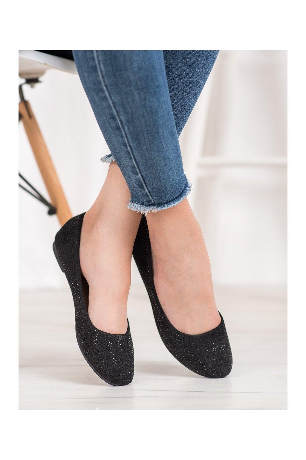 Čierne topánky Diamantique kod 9988-12B