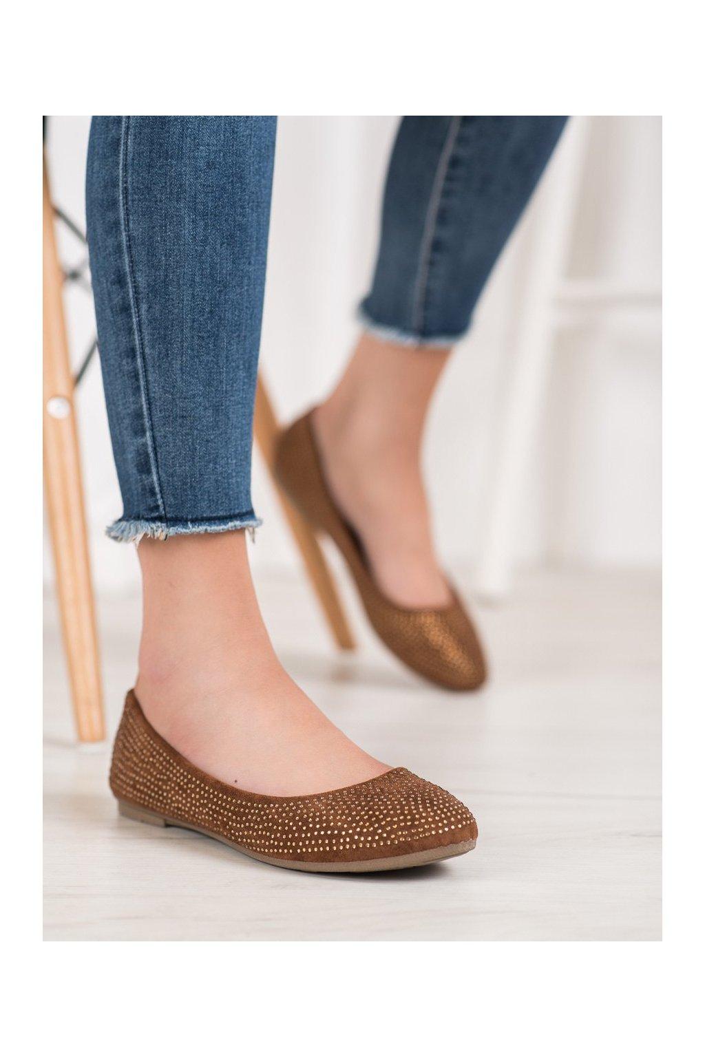 Hnedé topánky Diamantique kod 9988-12C