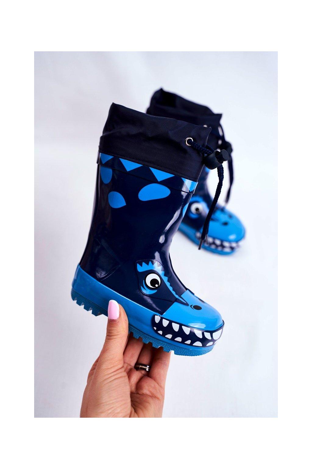 Modrá obuv kód topánok B99 B100 NAVY