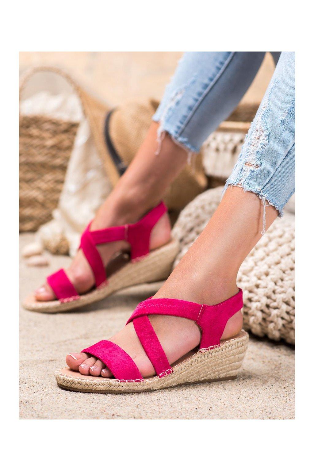 Ružové sandále Renda kod S-823F