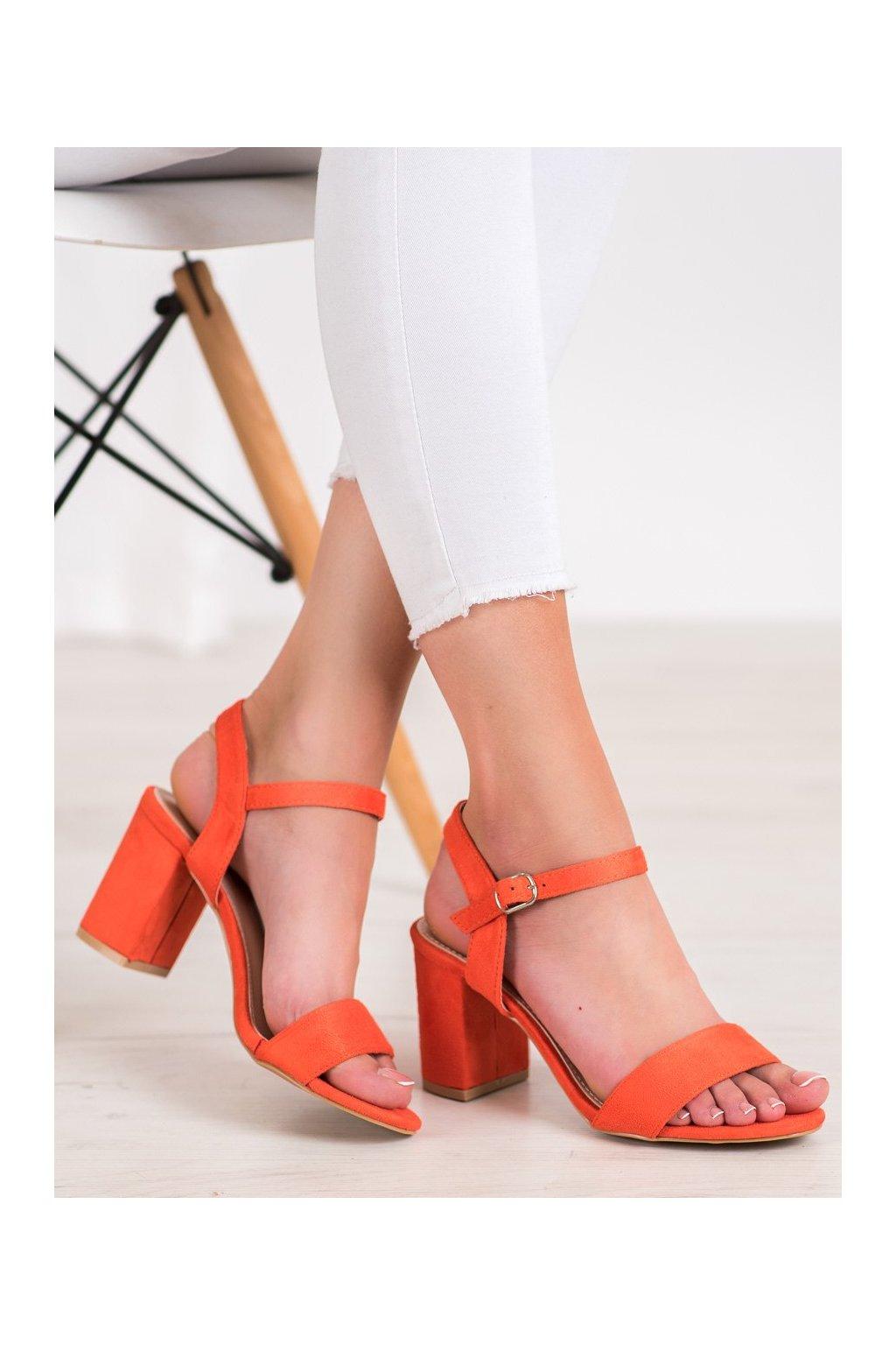 Oranžové sandále Nio nio kod 3032OR