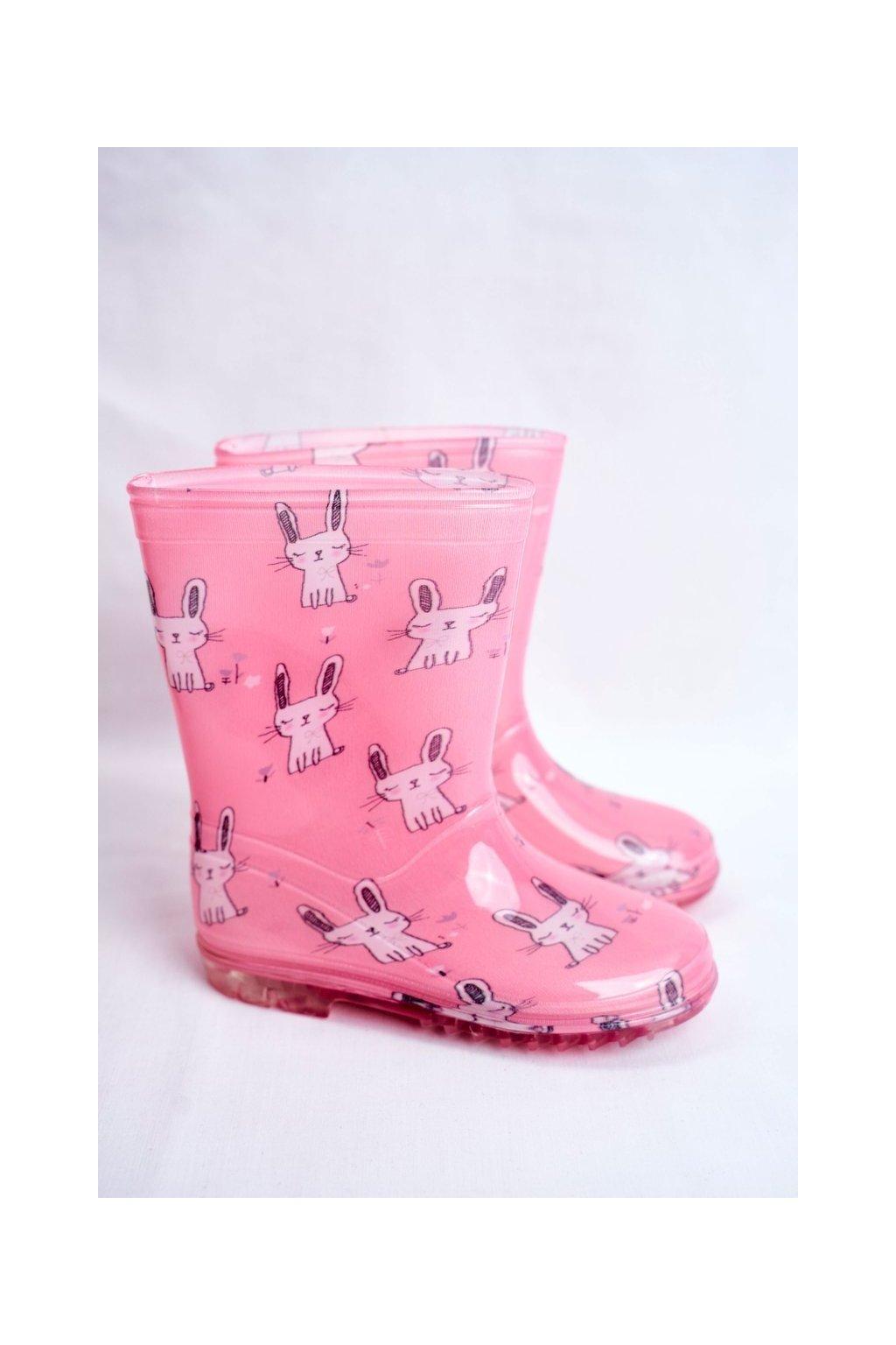 Ružová obuv kód topánok HMY-2 RABBIT